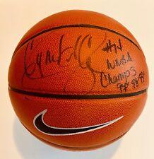 Cynthia Cooper #14 Houston Comets WNBA 97-98-99 Champions Signed Nike Basketball