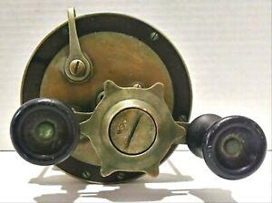Vintage Pflueger Par Free Spool Williams Saltwater Fishing Reel 350 Yard No 710