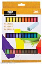 36 Künstler weich Square Skitzen Pastell Pigment Farben inkl. Fleisch cph-a36