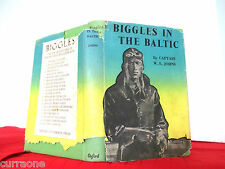 BIGGLES IN THE BALTIC 1952 hardcover with jacket  WE Johns  Alfred Sindall