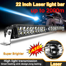 22 inch Laser LED Light Bar 2000 Meters Super Bright Osram Chips Dual Row Combo