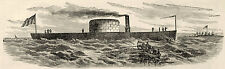 Civil War Union Navy Deck Plans USS Monitor at Green Point Long Island