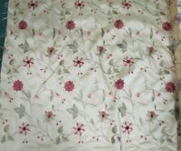 """Vintage Gold Color Floral Upholstery Fabric Home Decor 3.5 Yds 54""""W"""