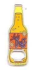 NEW Universal Studios The Simpsons Lady Duff Bottle Opener Magnet
