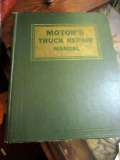 Motor's Truck Repair Manual - 15th Edition - McGuire Air Force Base Library 1962