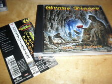 GRAVE DIGGER -HEART OF DARKNESS- VERY HARD TO FIND RARE 1ST JAPANESE CD 1995 GUN