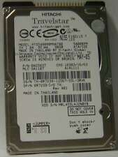 Hitachi HTS548080M9AT00 80GB 2.5 in IDE Drive Tested Good Free USA Shipping
