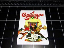 A Christmas Story 1983 movie logo vinyl decal sticker Red Ryder BB Gun holiday