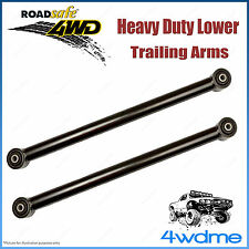 Pair Nissan Patrol GQ GU 16 mm 4WD Roadsafe Extended Rear Lower Trailing Arms