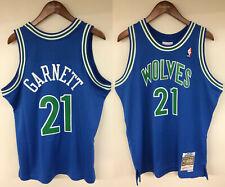 cheap for discount 122b5 1d21b Minnesota Timberwolves Mens Kevin Garnett 1995 Road Swingman Jersey XL