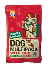Armitage Dog Multipack of Christmas Treats Safe Chocolate Snowballs Pawsley