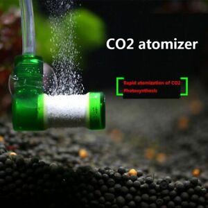 Aquarium CO2 Atomizer Carbon Dioxide Bubble Diffuser Grass Plant Tank Equipment