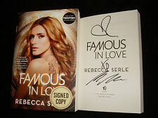 Rebecca Serle signed Famous In Love 1st printing softcover book