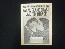 1937 FEBRUARY 21 SUNDAY MIRROR - FATAL PLANE CRASH LAID TO MIRAGE - NP 2318