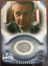 Buffy The Vampire Slayer The Men of Sunnydale Pieceworks Costume Card PW3 Giles