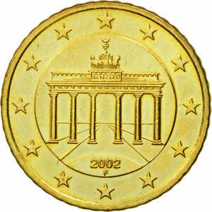 [#582223] République fédérale allemande, 50 Euro Cent, 2002, SUP+, Laiton, KM:21