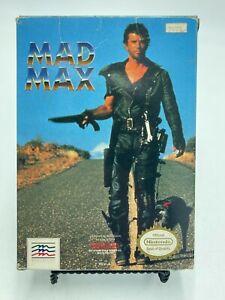 Mad Max (Nintendo Entertainment System, 1990) No Manual
