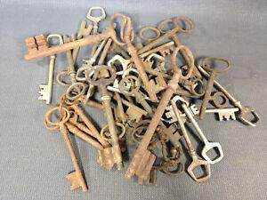 Set of Keys Keys Antique Restoration Meubles Vintage Key Wrought Iron