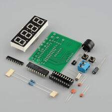 4 Bits Digital AT89C2051 Electronic Clock Production Suit Set DIY Kit BSG