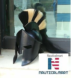 300 king Leonidas Greek spartan Armour Helmet
