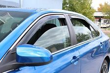 In-Channel Wind Deflectors for a 2015 - 2016 Toyota Camry