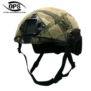 O.P.S HELMET COVER FOR OPS-CORE FAST HELMET IN A-TACS, CHOOSE YOUR VARIANT!!