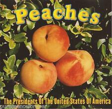 PRESIDENTS OF THE UNITED STATES OF AMERICA - Peaches (USA Radio/DJ CD Single)