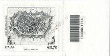 2013 francobollo Mura Rinascimentali di Lucca SX CODICE A BARRE 1558
