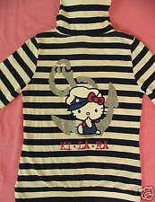 Hello Kitty Hoodie Jacket T shirt Top Cap Tee Coat Tank Blouse  T-shirt  S
