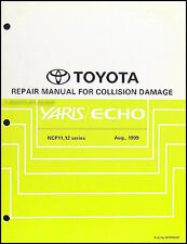 Toyota Echo and Yaris Body Manual 2000 2001 2002 2003 2004 2005 Repair Service