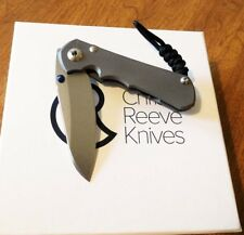 CHRIS REEVE New Small Inkosi Plain S35VN Insingo Blade Double Lug Knife/Knives