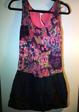 Rachel by Rachel Roy Graphic Print Sleeveless Spring Mini Dress Size Large