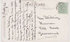 Great Britain-1908 1/2d green on St Mary Church, Torquay, Devon postcard cover