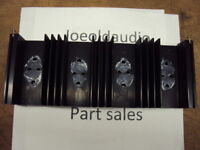 Nikko 6065 Original Heat Sink. Tested. Parting Out 6065.