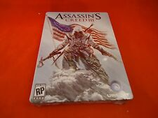 Assassin's Creed III Pre-Order Collector's Tin *New* AC 3 PS3 Xbox 360 Promo