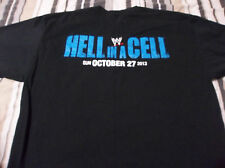 Rare 2013  WWE HD CREW HELL IN A CELL (XL) T-Shirt LOOK