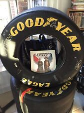 Signed In Person by Richard Petty & Kyle Petty #43 Race issued Full Size Tire