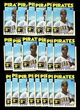(20) 1986 Topps Traded Barry Bonds Rookie XRC Lot! NM/MT+ $RARE$ HR KING!!
