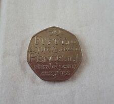 Rare Johnson's Dictionary 50p coin 2005