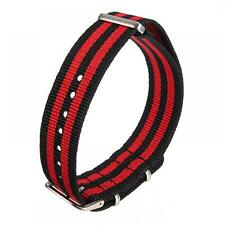 Military Infantry Stainless Steel 18/20 Mm Watch Band Man's Wrist Strap Nylon