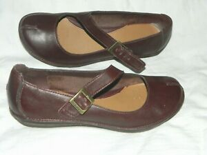 Women's Clark's Strappy Comfort Shoes Size UK 5 Brown Leather
