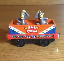 2006 Learning Curve Magnetic Die Cast Thomas & Friends Sodor Carnival Monkey Car