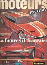 MOTEURS 72 1969 ALFA SPIDER DUETTO MGC GT FIAT 124S 125S GP AFRIQUE SUD SAN REMO