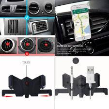 360° Adjustable Car Air Vent Phone Mount Bat Holder Rotation For iPhone Samsung