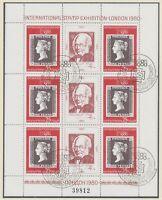 BULGARIEN 1980 Internationale Briefmarkenausstellung LONDON 1980 Klbg. m. Nummer