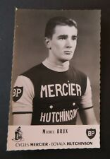 Photo Michel BRUX Mercier Hutchinson BP cycliste cyclisme vélo bike Fahrrad