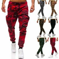 Men Trousers Sweatpants Pants Street Casual Jogger Sportswear Slacks Dance Baggy