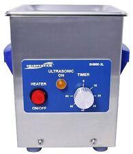 SharperTek Heated Ultrasonic Jewelry Dental Cleaner SH80-2L