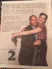 UK g2 (The Guardian) April 2017 Sarah Silverman - Amy Poehler on Harris Wittels