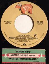 Memphis Sounds Orchestra 45 Sleigh Ride / Winter Wonderland  w/ts